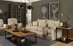 hussen sofa chelsea stripe leinen coastal homes