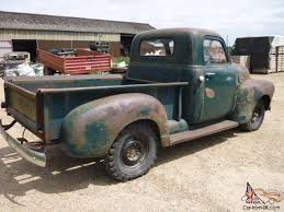 Lively 1949 Chevrolet Stepside Pickup Truck Original Runs Drives ...