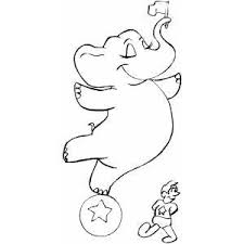 Circus And Carnival Coloring Pages