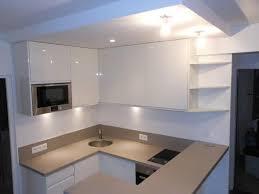 cuisine moderne blanche et cuisine moderne blanc laque laqu cuisishop photo n 94 domozoom