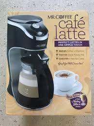 Mr Coffee Cafe Latte BVMC EL1 For Sale In Shingle Springs CA