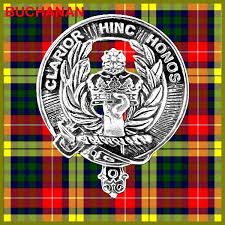 Buchanan Clan Crest Scottish Cap Badge CB02