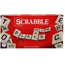 Standard Scrabble Tile Distribution by Hasbro Scrabble Crossword Game