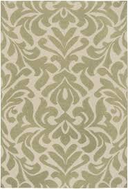 Cream And Sage Green Area Rug For Formal Dining Room If We Go In There