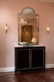 atlanta deco mirror entry contemporary with sconce silver wall