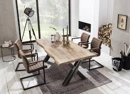 sit esstisch tops tables mit platte aus mangoholz shabby chic vintage kaufen otto