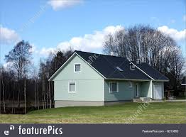 100 Modern Rural Architecture Residential House Stock Picture