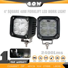 TUFF PLUS 2PCS 4inch SQUARE 40W LED Work Light For Forklift Truck ... 12w Led Offroad Work Light Truck Tractor Car Fog Auxiliary Are Bed Lighting For Those Who Work From Dawn To Dusk Trucklite 8170 Signalstat Stud Mount 5 Rectangular 2 X Cube 16w Cree Flood Driving Off Road Bar Jeep Buy Now X 6inch 18w Lamp Traxxas Xmaxx Lights Super Bright Easy To Install Youtube Flush Pods Spotflood Offroad Boat Ip67 12v 24v 10w Warning Lights On Vehicle Lighting Ecco Bars Worklamps Cap World