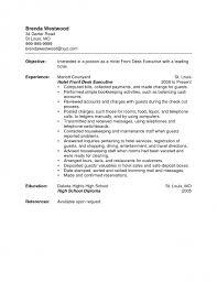 resume sle hotel front desk skills 15 pertaining to agent 19