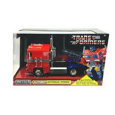 100 Optimus Prime Truck Model JADA METALS TRANSFORMERS G1 124 SCALE DIECAST MODEL CAR AUTOBOT
