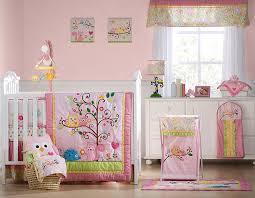 Amazon Kids Line Dena Happi Tree 6 Piece Crib Set Pink