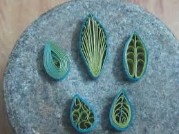 Types Of Christmas Tree Leaves by How To Make Quilling Leaves 5 Different Types Quilling