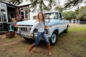 Star Designer Kim Lewis Builds Company Around 1977 Ford F-150 Photo ...