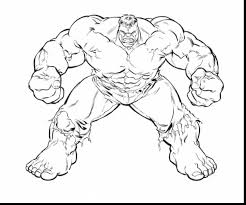 Extraordinary Incredible Hulk Coloring Pages Printable With Page And Free