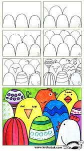 How To Make An Easy Easter Postcard Going Use This For Foreground Middle Ground