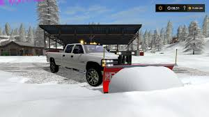 2002 SILVERADO 2500 PLOW TRUCK WITH HITCH MOUNT SALTER V2 FS17 ...