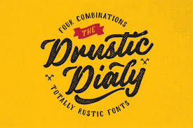 17 Drustic Dialy By Adam Fathony In Fonts