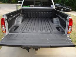 rhino lining installed today nissan frontier forum