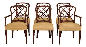 Kindel Mahogany Dining Room Chairs - Set Of 6 | Chairish Shop Psca6cmah Mahogany Finish 4chair And Ding Bench 6piece Three Posts Remsen Extendable Set With 6 Chairs Reviews Fniture Pating By The Professionals Matthews Restoration Tustin Chair Room Store Antoinette In Cherry In 2019 Traditional Sets Covers Leather Designs Dark Superb 1960s Scdinavian Design Rose Finished Teak Transitional Upholstered Mahogany Ding Room Chairs Lancaster Table Seating Wooden School House Modern Oval Woptional Cleo Set Finish Home Stag Extending Table 4
