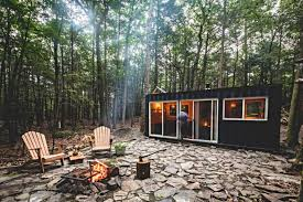 100 Cargo Container Cabins 20foot Shipping Container Converted Into Offgrid Oasis Deep In The