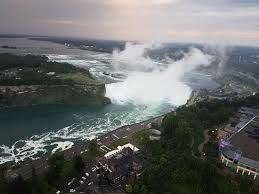 horseshoe falls from skylon tower evening 7 27 2017 picture of