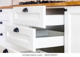 Kitchen Cabinet Handles Wren Unique Modern Handle Less Grey Matt
