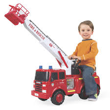 100 Fire Truck Ride On Action Engine On Toy Montgomery Ward