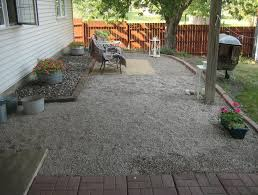 Pea Gravel Patio Images by Pea Gravel Patio Plans Home Design Ideas