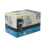 Starbucks Vanilla Sweetened Iced Coffee K Cup