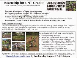 UNT Geography Internships And Career Information: Organic Urban ... The Daily Dirt Johons Backyard Garden Free Seedlings From Food Is Project Photography By Jody Horton Pictures Home Designs Photos Brenton Johnson Organic Farmer Entpreneur Dhead Tammarinated Spring Power Bowls A Time To Kale Garlic And Jalepenos Austin Urban Gardens Holly Cowart Day At Americas Hippest Farm