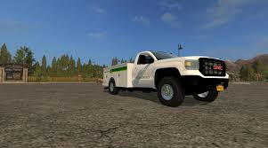 GMC SIERRA SERVICE TRUCK V2.0 FS17 - Farming Simulator 17 Mod / FS ...