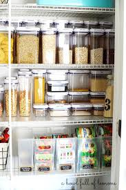 Kitchen Storage Ideas Pinterest by Best 25 Pantry Storage Containers Ideas On Pinterest Kitchen