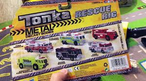 Toy Cars For Kids - Street Vehicles Toys Classic Steel Tonka Trucks ...