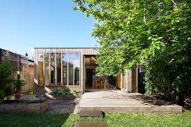 100 Modern Wooden Houses A Box Extension Complements A Century Old Weatherboard
