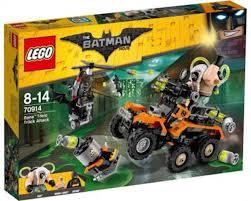 LEGO BATMAN MOVIE Bane Toxic Truck Attack 70914 Building Kit ...