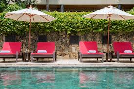 kalya residence at panacea retreat sunloungers by the pool
