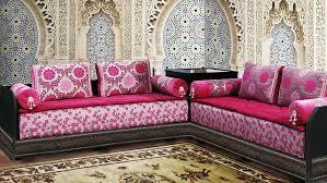 modele de tissu pour salon marocain inspirations avec tissu pour