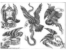 HD Mexican Eagle Vs Snake Tattoo Design Library