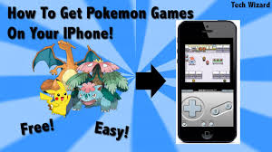 How to Pokemon Games on your IPhone Without Jailbreaking