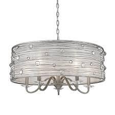Wayfair Chandelier Lamp Shades by Willa Arlo Interiors Hermione 5 Light Drum Chandelier U0026 Reviews