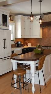 Galley Kitchen With Island At End Luxury Design Kitchens Islands