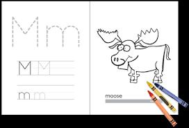 Alphabet Coloring Book PDF