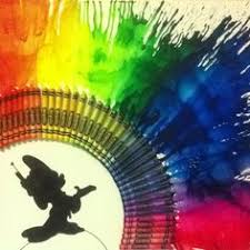 I Already Did Crayon Art Like This But Im Thinking Its Time