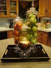 Another Decor Idea Using Various Size Pretty Apothecary Jars