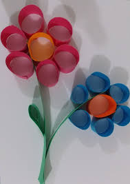 10 Gorgeous Craft Ideas With Construction Paper Flower Easy Crafts Art Projects
