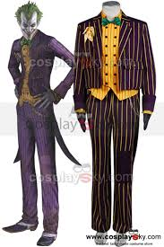 Long Halloween Batman Suit by Batman Arkham Asylum Joker Cosplay Costume Coat Suit Batman