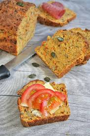 This 3 Seed Multigrain Carrot Bread is not only great for sweet spreads it