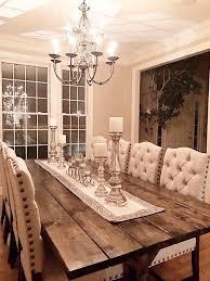 Large Farmhouse Table Long Farm Dining Room