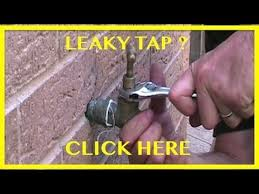 Outdoor Faucet Leaking From Bottom by How To Change A Tap Washer How To Fix A Dripping Tap Youtube