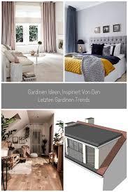 gardinen trends gardinen wohnzimmer kurz modern 32